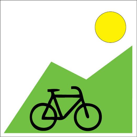 Logo Radfahren-©Autor: Yvonne Tremml, Quelle: Gemeinde Oberaudorf