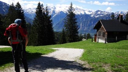 Der Dachstein vom Hütteneck gesehen