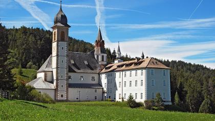Blick auf das Kloster Maria Weißenstein