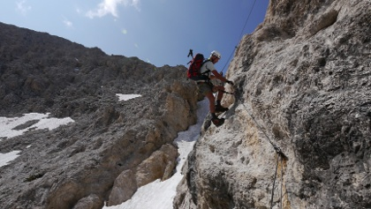 Klettersteig Rosengarten : Die schönsten klettersteige in den dolomiten