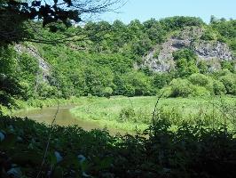 Rabenfels mit Brutplatz vom Wanderfalken(Foto: , Quelle: Tourist-Information Idar-Oberstein)