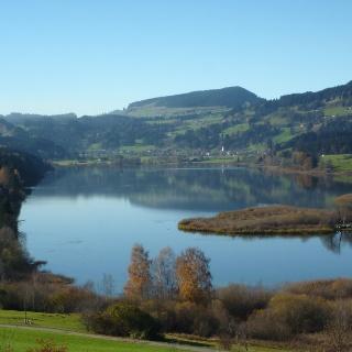 Waltenhofen - Niedersonthofener See und Stoffelberg