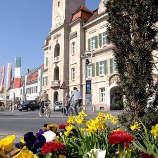Hauptplatz der Weinstadt Leibnitz