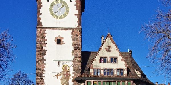 Das Schwabentor in Freiburg.