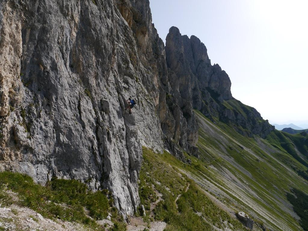 Einstieg - Klettersteig  - @ Autor: Hartmut Wimmer  - © Quelle: Outdooractive Redaktion