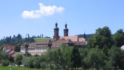 Das Kloster St. Peter auf dem Schwarzwald.