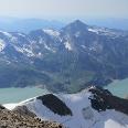 Aufstiegsweg über die Fochezköpfen und dem Kaindlgrat