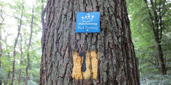 Märchenweg Schild