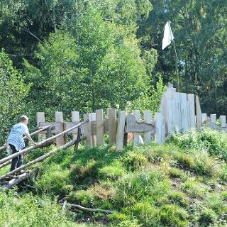 Spielburg am Moorerlebnisweg