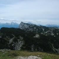 Berchtesgadener Hochthron vom Salzburger Hochthron aus gesehen