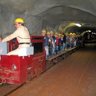 Grubenzug in der Grube Fortuna