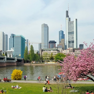 Finanzmetropole Frankfurt