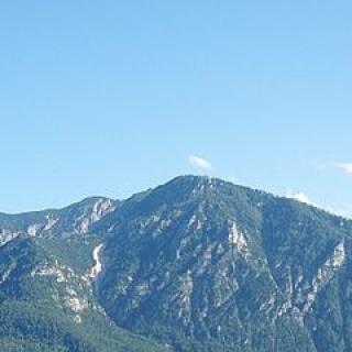 Das Lattengebirge von Norden