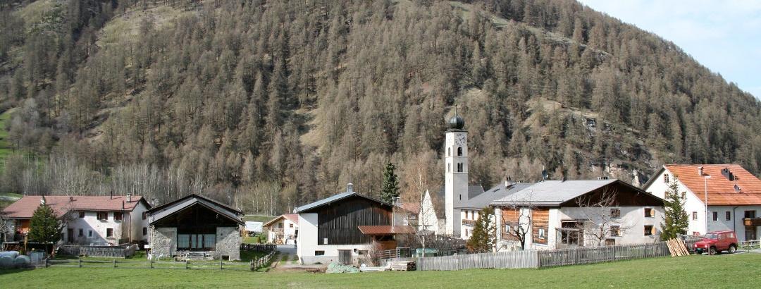 Das Dorf Valchava.