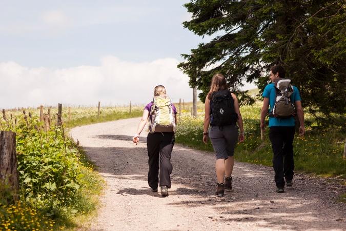 Über den Zweiseenblick nach Bärental