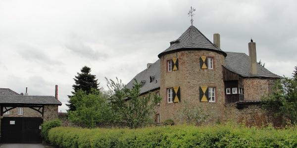 Unterburg in Antweiler