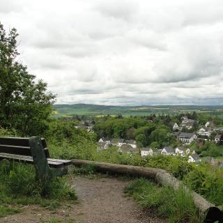 Blick auf Kreuzweingarten