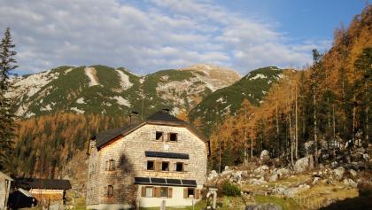 Ischler Hütte im Spätherbst