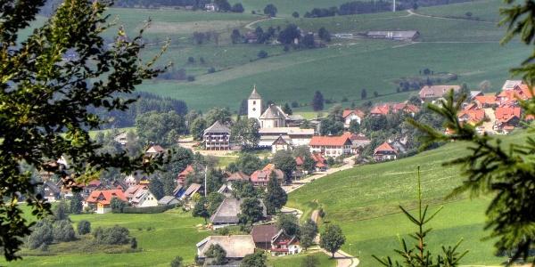 Blick auf Breitnau