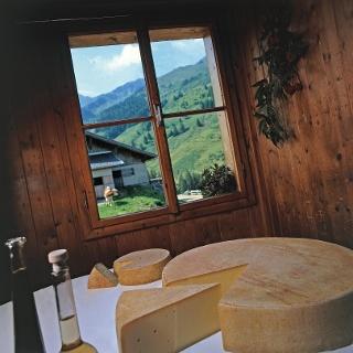 Käse von der Schönangeralm Wildschönau