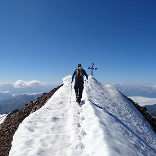 Gipfelgrat Schneebiger Nock