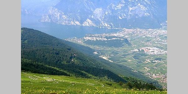 Ausblick vom Monte Stivo