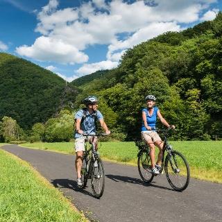 Wied-Radweg, Radtour Westerwald