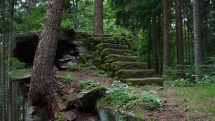 An der Ruine Waldeck