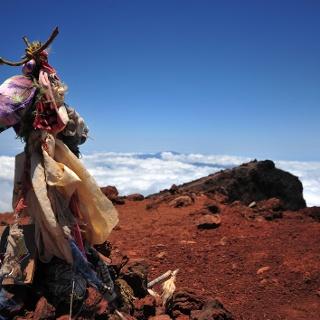 Gipfel des Piton des Neiges (3071m)