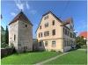 Im ehemaligen Kloster Murrhardt steht neben dem Pfarrhaus der 1499 von Abt Schradin erbaute einzige erhaltene Wehr- und Gefängnisturm, der sogenannte Hexenturm.  - @ Autor: Silke Rüdinger  - © Quelle: Hohenlohe + Schwäbisch Hall Tourismus e.V.
