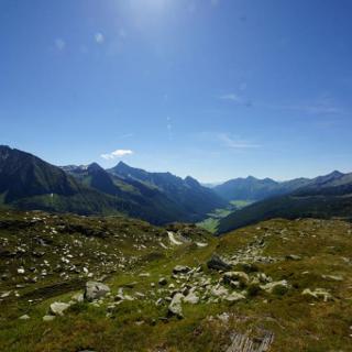 Blick nach Südtirol