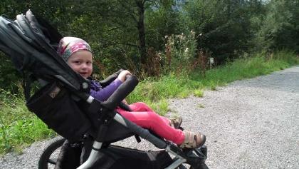 Kinderwagentauglicher Weg