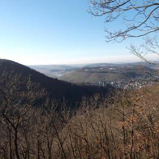 Blick auf die Stadt Bernkastel-Kues