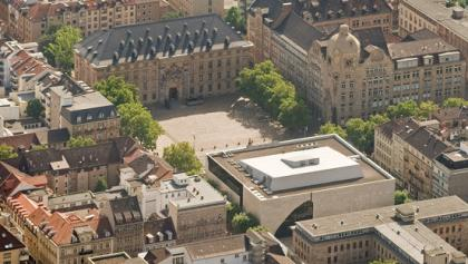 Das Museumsviertel der Reiss-Engelhorn-Museen in den Mannheimer Quadraten