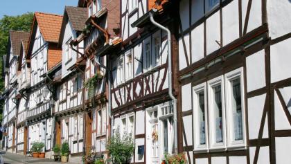 Fachwerkzeile in Bad Sooden-Allendorf