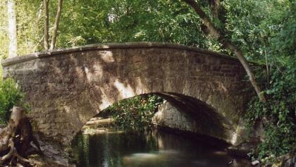 Billigheim - Brücke im Schlosspark