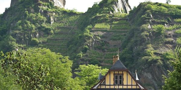 Blick auf die Saffenburg