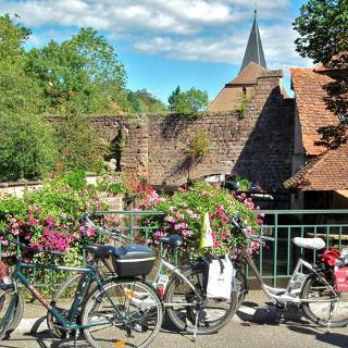 Malerische Anblicke  In Wissembourg