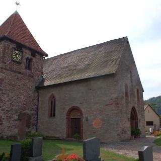 Die Kirche St. Veit in Eichel