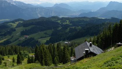 Traumhaftes Panorama am Spitzsteinhaus.
