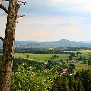 Vysoka Lipa vom Schauenstein aus gesehen
