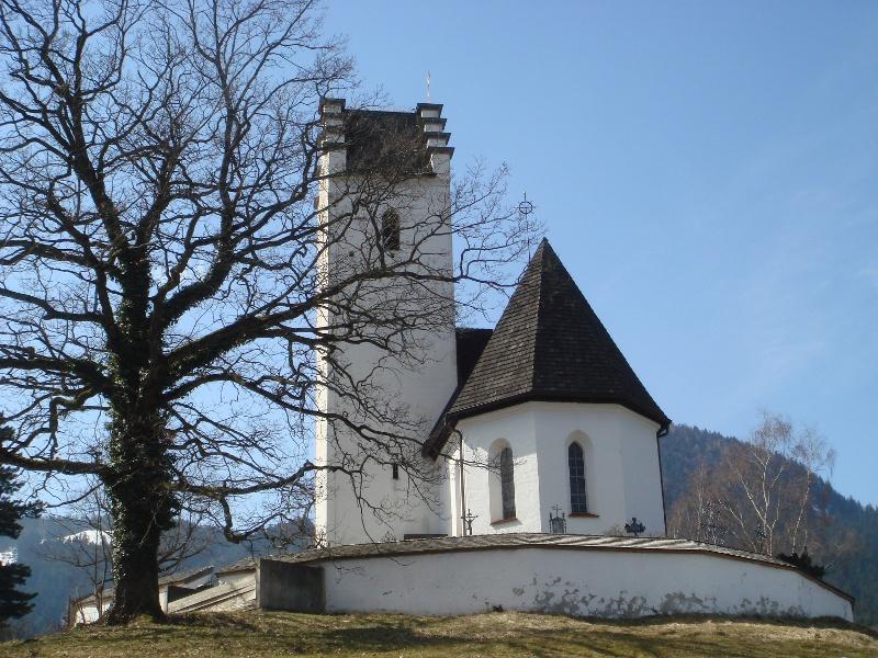 Wandern von Brannenburg aus - Nach St. Margarethen und Hinterkronberg