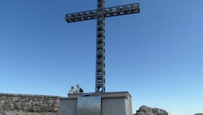 Das Europakreuz am Alberfeldkogel