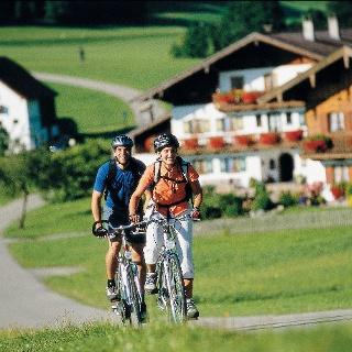 Radler im Chiemgau