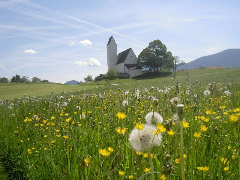 Wandern von Samerberg aus - Vierkirchen-Wanderung