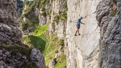 Klettersteig Kitzbühel : The top via ferrata routes in kitzbuehel