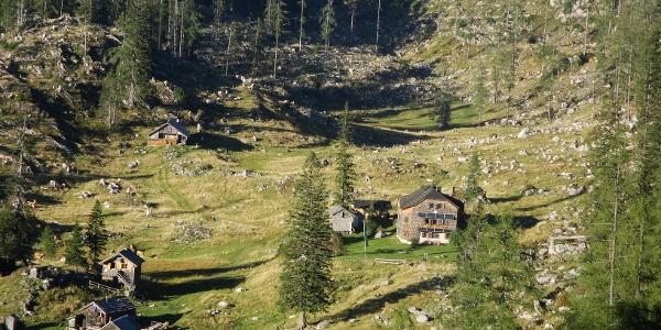 Schwarzenbergalm mit Ischler Hütte