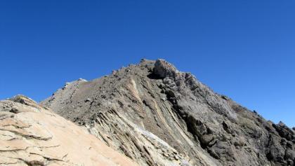 Der Gipfelaufbau des Muttekopf