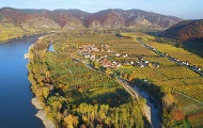 Die Donau bei Rossatz und Rührsdorf