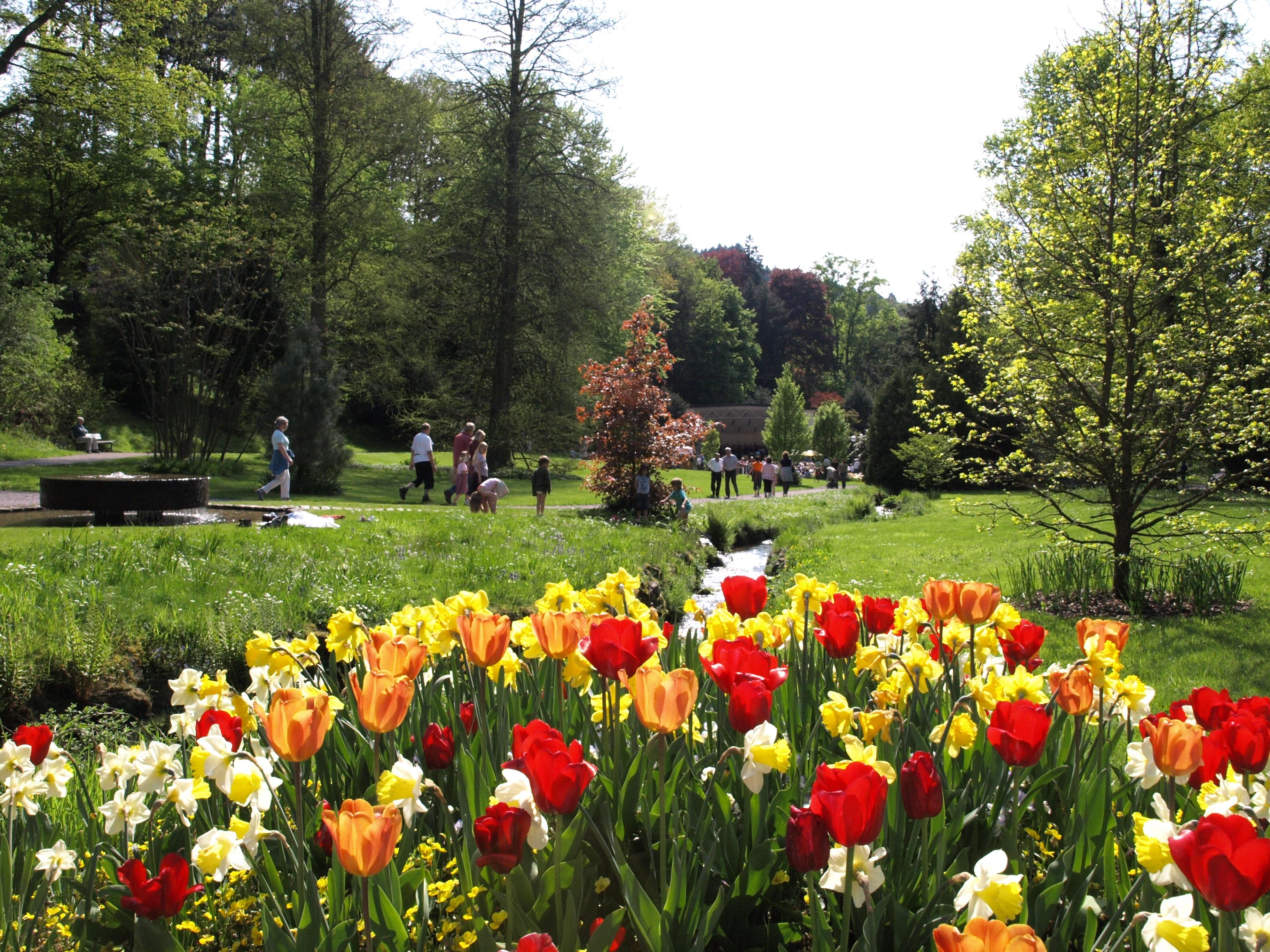 Gernsbacher Kurpark mit Konzertmuschel